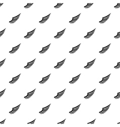 Heavenly wing pattern simple style vector