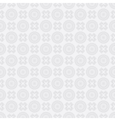 light gray seamless pattern vector image vector image