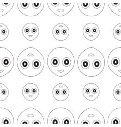 Smiley seamless vector