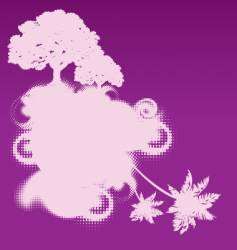 mythical tree design vector image