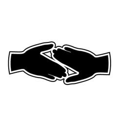 Friend icon vector