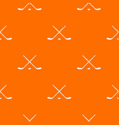 Hockey pattern seamless vector
