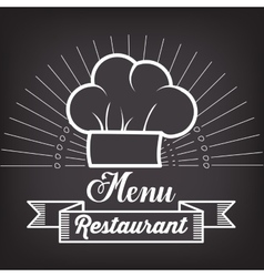 menu restaurent food icon vector image vector image