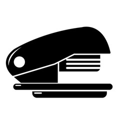 stapler icon simple black style vector image