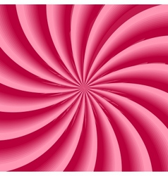 Strawberry cream abstract hypnotic background vector image