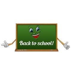 Cartoon isolated school blackboard icon vector