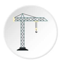 Crane icon flat style vector image vector image