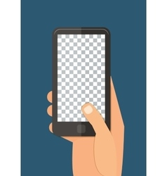 Mobile template vector