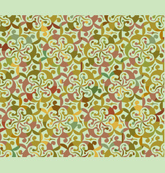 Seamless abstract floral interesting pattern vector