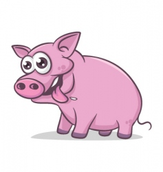 pig vector image