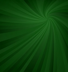 Dark green spiral pattern background vector