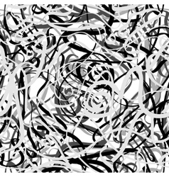 Chaotic grey lines vector