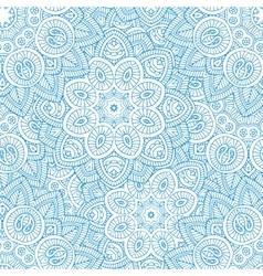 indian mandala seamless pattern vector image vector image