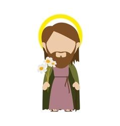 Saint joseph icon image vector