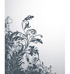 6floral line 08 1 vector image