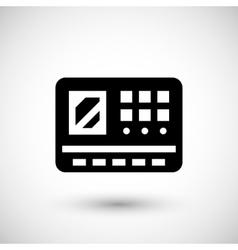 Control panel icon vector
