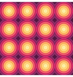 Crazy colorful gradient geometric pattern vector image
