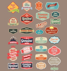 Retro design label vector image vector image