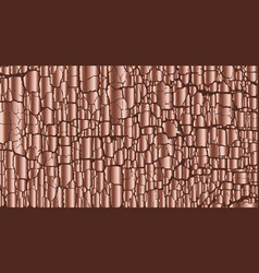 rose gold color abstract texture vector image vector image