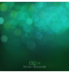 Abstract bokeh background festive lights vector