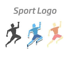 Sport logo athletic vector
