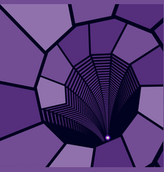 geometric purple abstract background vector image