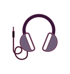 Headphone audio device vector