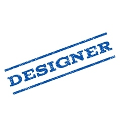 Designer watermark stamp vector