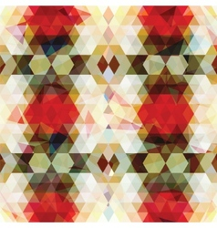Triangular mosaic colorful background vector