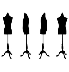 Dressmakers dummy vector