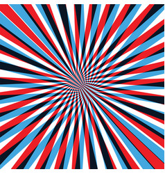 Red and blue abstract line background vector