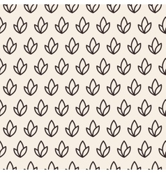 Leaves plant seamless pattern vector