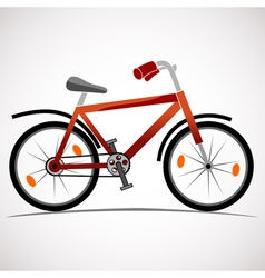 Mountain bike icon vector image vector image