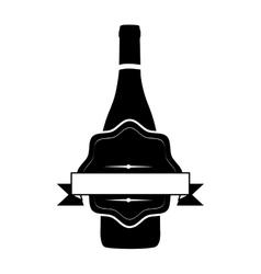 wine icon image vector image