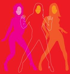 Lets dance vector