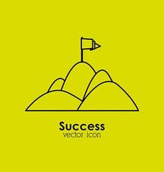 Success icon vector