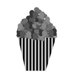 delicious pop corn isolated icon vector image