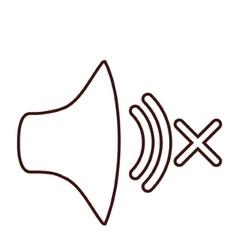 Isolated volume sound design vector