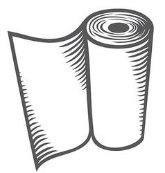 Paper towel vector image