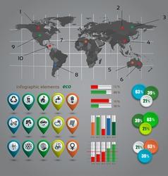 Ecologi infographic vector