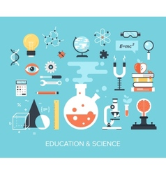 Education and science vector