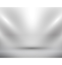 Blank light room white vector