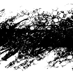 Black grunge background vector