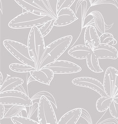 Lilly pattern vector