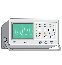 Oscilloscopetest instrument vector