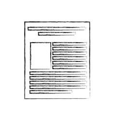 Paper document file icon vector