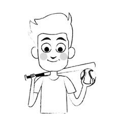 Young boy icon image vector