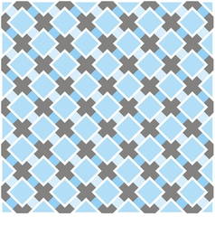 Sweet blue white and dark grey background plaid vector