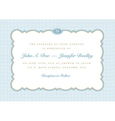 Vintage invitations vector
