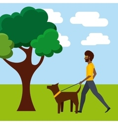 People walk design vector